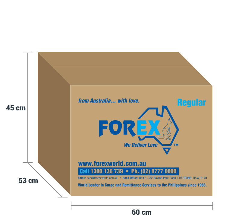Forex cargo box sizes