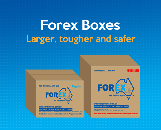 Forex box delivery