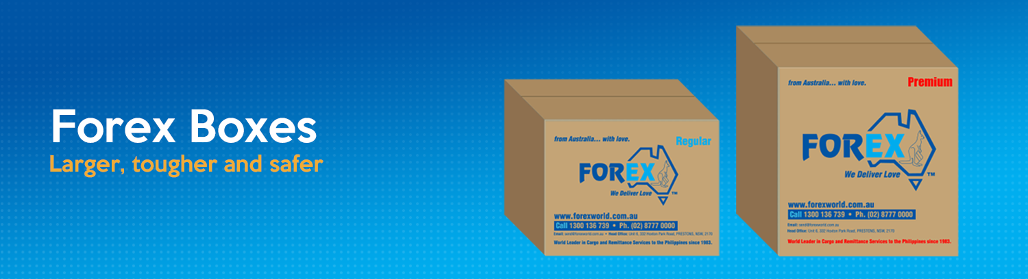 Forex box tracker