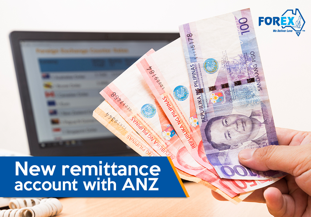 Anz forex account